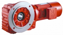 Geared motors and gearboxes